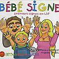 Signer avec les enfants #2 les livres qui nous aident