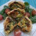 P'tites tartelettes saumon/épinards
