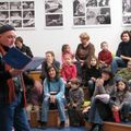 La lecture s'engage(Photo Chantal Chatelain Le Télégramme)