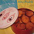 Muffins poires-chocolat noir