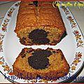 Cake noisettine et chocolat marbré / мраморный кекс с фундуком и шоколадом