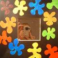 miroir flower couleur