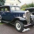 CITROËN Rosalie 10L berline 1933 Créhange (1)