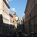 Monti, entre Cavour et Nazionale, la Suburra (10/11). Des rues tranquiilles au riche passé, les via Panisperna et Urbana.