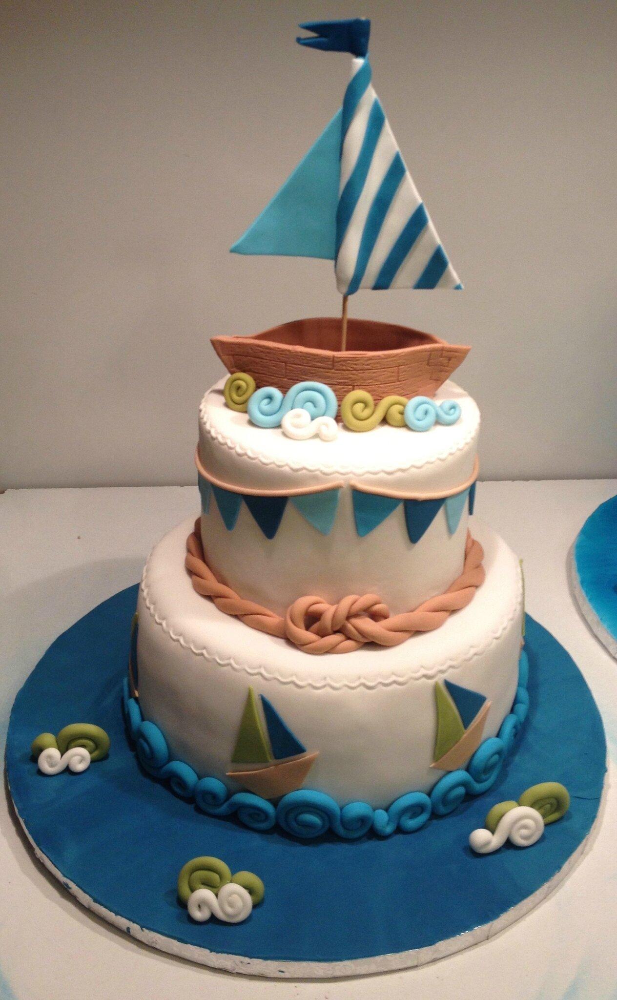 Gâteau petits bateaux 2