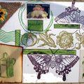 Mail-arts retrouvés: les verts