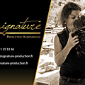 Signature production audiovisuelle...