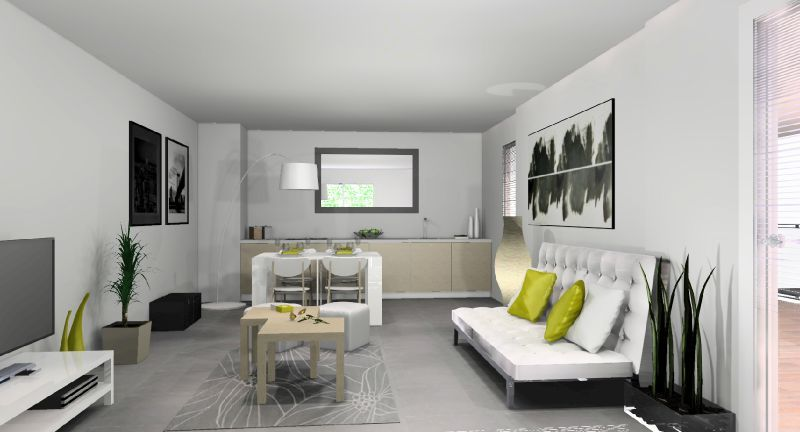 am nagement appartement t moin marseille stinside architecture d 39 int rieur. Black Bedroom Furniture Sets. Home Design Ideas