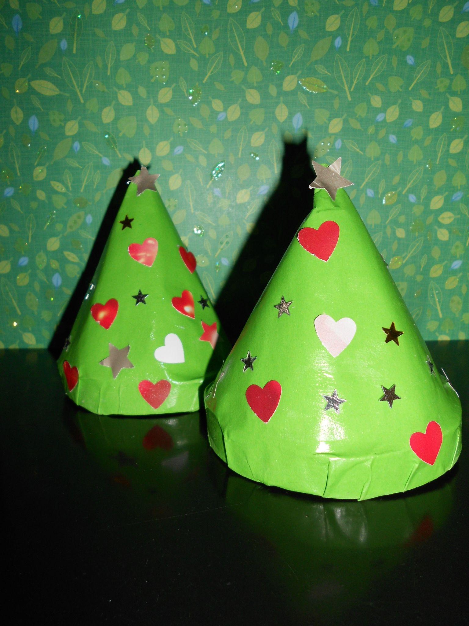Nos petits sapins de Noël
