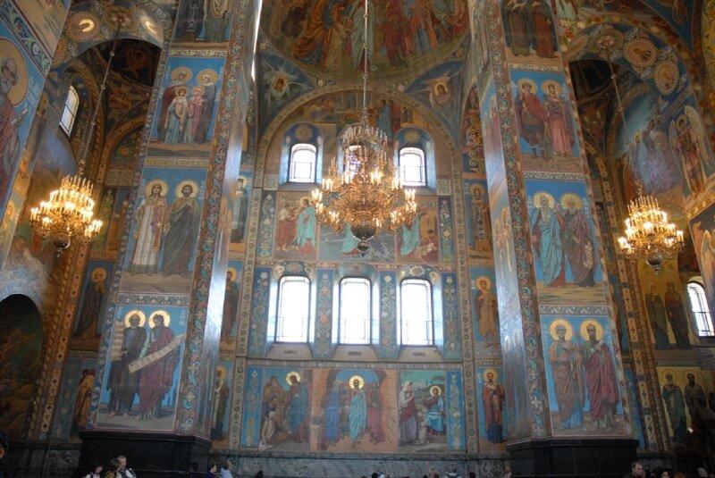 Intérieur de St Sauveur