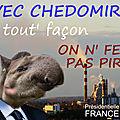 Campagne présidentielle 2022 de <b>Chedomir</b> le <b>Tapir</b>