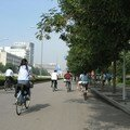 Piste cyclable chinoise
