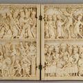 Diptyque, Paris second quart du XIV <b>siècle</b> & Médaillon double face. Milieu du <b>XVe</b> <b>siècle</b>