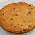 Cookie géant aux pépites de chocolat