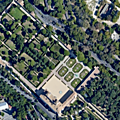 Campo Marzio / Pincio : Vue plongeante sur Rome (6/9). Les jardins de la Villa Médicis.