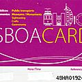 BIENVENUE A <b>LISBONNE</b> avec LA LISBOA CARD - 1