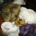 Fils à tricoter ou ...