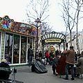 Paris, place des Abbesses, Montmartre