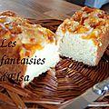 Gâteau au yaourt et abricots