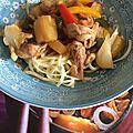 Poulet thaï à l'ananas et noix de cajou