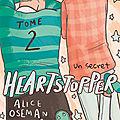[CHRONIQUE] Heartstopper, tome 2 : Un secret d'Alice Oseman