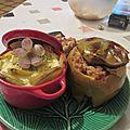 Compotée farcie de poulet pomme-poire