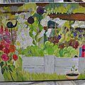 Le jardin de angeline en couleurs