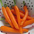 De jolies carottes