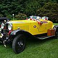 Vauxhall 20/60 hp hurlingham roadster 1929