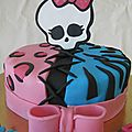 gateau monster high n°3