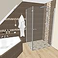 Projet client: Une salle de bain à l'atmosphère apaisante