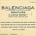 Balenciaga. Carton