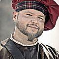 Mercenaire ecossais - ogrodzieniec - pologne