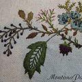 Montanapatch les fleurs de mon jardin