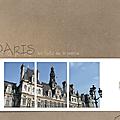 Toits de la marie de Paris