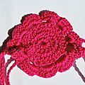 Head band au crochet