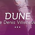 Dune ★★★