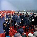 Ahidjo et Kennedy à Washington DC