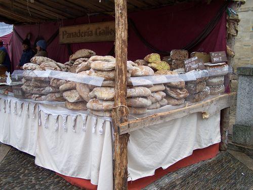 Santo Domingo de la Calzada-marché médiéval pains