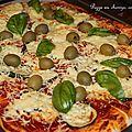 Pizza au chorizo pour la ronde interblog 29 !