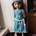 vide atelier poupées Minouche, Zwergnase et <b>Ruby</b> red 36 cm