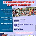 Exposition nationale d'arts manuels - longueau