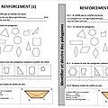 <b>Géométrie</b> - polygones - Fiche de renforcement