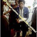 Moment captured: michael jackson dans les coulisses du tournage pepsi en 1984 par michael leshnov