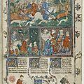 Artus de bretagne, un roman médiéval en prose daté du xive siècle,