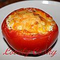 Tomates farcies aux coeurs d'artichauts et au chèvre frais