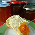 Confiture d'oranges ameres