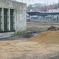 Les travaux d'accès à la <b>gare</b> <b>Viotte</b>, côté sud, ont commencé