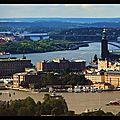 Stockholm : vue de puis la Kaknastornet