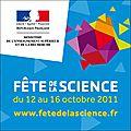 La <b>fête</b> de la <b>science</b>